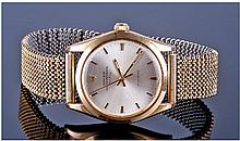 9ct Gold Rolex Oyster Perpetual Air King Precision