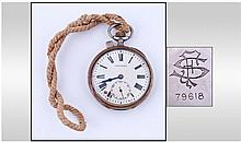 Longines Italian Railway Pocketwatch, White