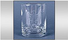 German Glass, engraved.