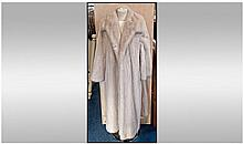 Harrods Grosvenor Canada Full Length White Mink