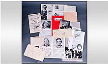 TV Comedy Autograph Collection, to include Peter