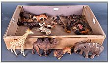 Quantity Of Mostly Early 20thC Composition Animal