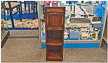 Oak Cased 1920's Combined Smokers Cabinet And