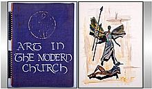 'Art In The Modern Church'' Mid 20thC Large Thesis