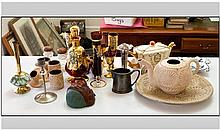 Assorted Ceramics and Glass Ware including