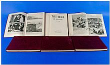 Set Of Six Books - The War In Pictures. Hard back