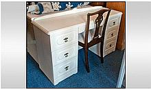 Modern Cream Colour Dressing Table.