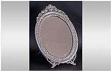 A Fine Quality Large Oval Shaped and Ornate