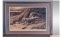 Herbert Dicksee (British, 1862-1942) ''Raiders''