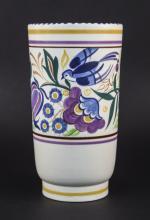 Poole 1960's Designed Vase, Designer Trudi Carter c1950's, 10'' High, Excel