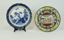 Mason's Ironstone China Chinoiserie Designed Cabinet Plate Diameter 10 Inch
