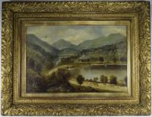Edward Priestley British 19th Century. Title ' Flowerdale Ross shire Scotla