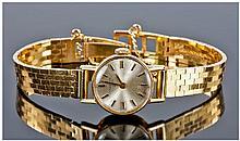 Longines Fine Ladies 18ct Gold Manual Wind Wrist