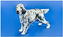 Royal Doulton Dog Figure English Setter CH.