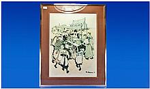 Margaret Chapman Pencil Signed Print, '75. with