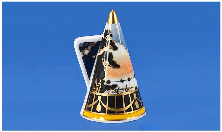 Royal Worcester 'Morning River' Candle Snuffer