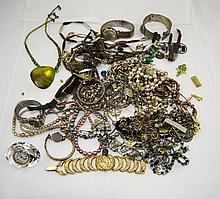 Miscellaneous Lot of Costume Jewellery including watches