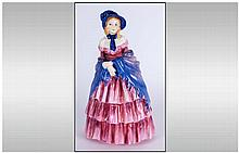 Royal Doulton Figurine ' Victorian Lady ' HN.728. Designer L. Harradine. Is