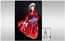 Royal Doulton Figurine ' Lilac Time ' HN.2137. Designer M. Davies. Issued 1