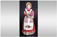 Royal Doulton Figure ' Old Country Roses '. HN. 3692, Designer N. Pedley. I