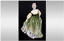 Royal Doulton Figurine ' Fair Lady ' HN.2193. Designer M. Davies. Height 7.