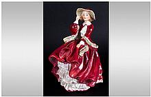 Royal Doulton Early Figure ' Top of The Hill ' HN.1834. Reg Num.822821. Hei
