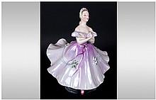 Royal Doulton Early Figure ' The Ballerina ' HN2116. Designer M. Davies. Is