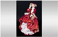 Royal Doulton Figure 'Top Of The Hill' HN1834 style one. 7'' in height. Min