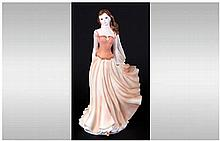 Royal Worcester Figurine ' Wistful ' RW 4604. Issued 1996 - 1999. Height 8.