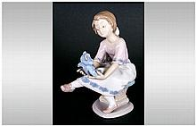 Lladro Members Only Collectors Society Figure 'My Best Friend' model number