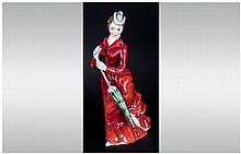 Petite Ladies Renaissance ''Fiona'' Porcelain Figure - Made in England. Min