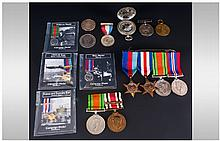 Military Interest 2 WWI Medals, War Medal Awarded To 78838 CPL J Lees Tank