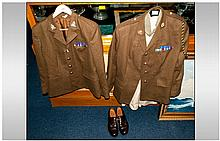 Military Interest - Ladies, One Full Service Dress Uniform, Together With A