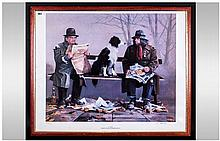 Larry Rushton Pencil Signed Limited & Numbered Edition  Colour Lithograph P