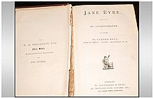 Jane Eyre By Charlotte Bronte Hardback Book, W Nicholson & Sons London