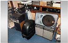 Music/Studio Interest, Mixed Lot Large Quantity To Include JBL Speakers On