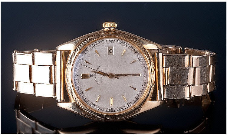 18ct Gold Rolex Oyster Perpetual, Ref. 4467, circa