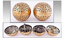 Middle Eastern Incense Burner / Hand Warmer,