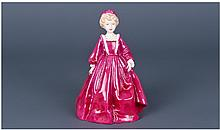 Royal Worcester Figure ' Grandmothers Dress ' '