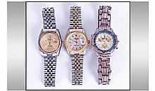 Three Modern Copy Watches.