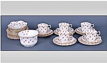 Aynsley Vintage 28 Piece Part Tea Service.
