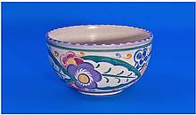 Early 1920's Poole Pottery Decorated Bowl, with