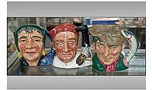 Three Royal Doulton 'Professions' Medium Character