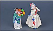 Royal Doulton Miniature Figure 'The Balloon