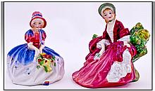 Royal Doulton Small Figures, 2 in total. 1).