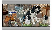 Collection Of Assorted Animal Figures. Comprising