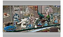 Collection Of Assorted Dolphin And Seal Figures.