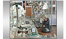 Collection Of Assorted Wild Life Animal Figures.