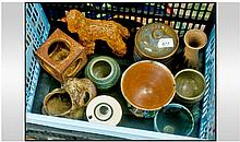 Mixed Studio Pottery, various potters (12)