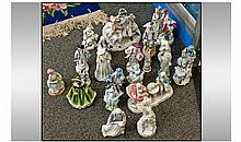 Collection Of Assorted Ceramic Figures. Various
